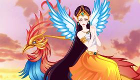 Vestir a la princesa del fénix