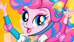Pinkie Pie patinadora