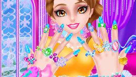 Salón de manicura para princesas
