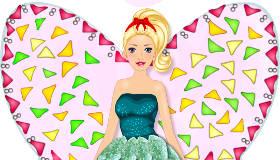 Tarta de Barbie Hada