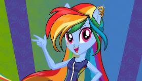 Juego de rainbow rocks de vestir