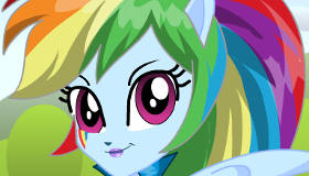 Cambio de look de Rainbow Dash