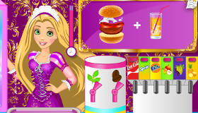 Rapunzel camarera