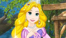 Vestir a Rapunzel