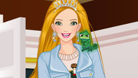 Viste a Rapunzel de Disney