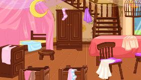 Rapunzel a limpiar