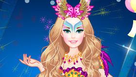 Barbie detective bromista en carnaval