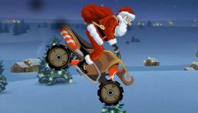 Juego de moto con Papá Noel