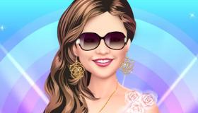 Selena Gomez en la peluquería