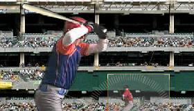 Béisbol batear y lanzar