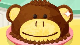 Tarta de mono para niños