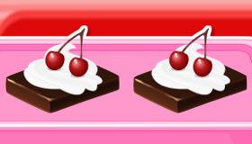 Tarta fácil con sirope de chocolate