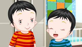 Vestir a bebés gemelos