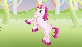 Juego de unicornio