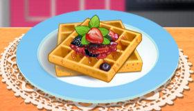Cocina con Sara waffles