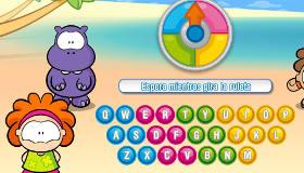 Juego de letras de niños