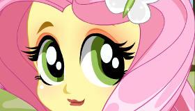 Maquillaje de Fluttershy de Equestria