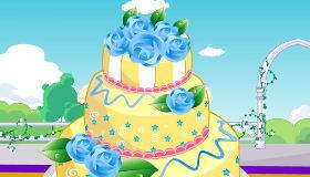 Hacer pasteles de boda